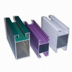 Quality Electrophoretic Coated 6061 Aluminum Profile , Q/320281/PDWD-2008 Structural Aluminium Profiles for sale