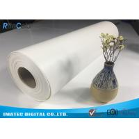 "Quality Outdoor Eco Solvent 380gsm Glossy Inkjet Pure Cotton Canvas Roll 122"" for sale"