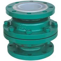 Quality GGG 40.3 ductile iron Ball Check Valve with two Flanged pieces for sale