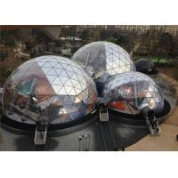 Quality Spacious 20M Diameter Geodesic Dome Tent With Transparent Fabric for sale