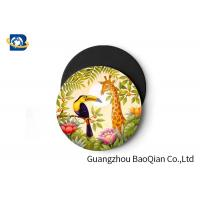 Quality Wild Animal Art Image Lenticular Coasters 3D Decoative Cup Placemat 0.6MM PET for sale