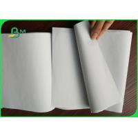 Quality White Uncoated Woodfree Paper , 80gsm Offest Notebook Paper Rolls for sale