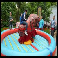 Buy Interesting Amusement park rides Mechanical Rodeo Bull for sale at wholesale prices