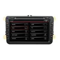Quality 8 Inch Dual Zone Bluetooth Phone Call 3G USB PIP Picture In Picture Volkswagen DVD GPS ST-7609 for sale