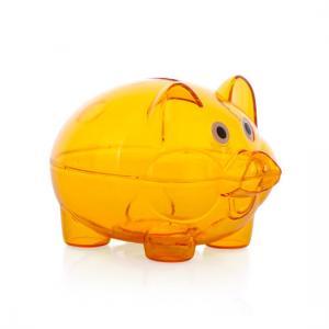Quality Portable Multi Color Transparent Piggy Bank For Toddle Money Saving for sale