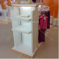 Quality Two sides Converse shoes clothes Display shelf for sale
