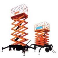Quality 4 Wheels Electric Scissor Lift Table for sale