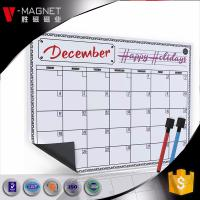 Buy cheap wholesale magnetic calendar for refrigerator on Amazon  magnetic board for monthly weekly planner  dry earse board from wholesalers