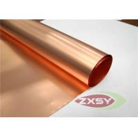 Quality Self- Adhesive High Conductivity Alloys Of Copper Foil Roll Casting for sale