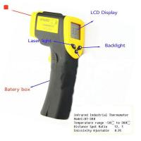 Quality ℃ / ℉ Selection handheld Non contact automatic infrared laser thermometer for sale