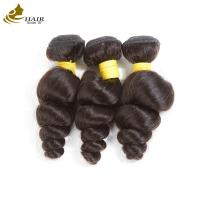 Quality 8a Virgin Human Hair Extensions No Fiber With 4 * 4 Lace Closure Loose Wave for sale