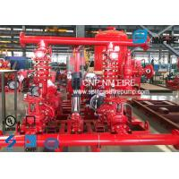 Quality UL FM Approved Skid Mounted Fire Pump Package Ductile Cast Iron Materials for sale