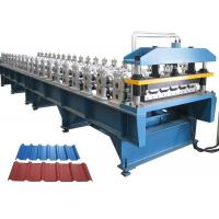 Quality Roofing Sheet Roll Forming Machine , Roofing Corrugated Sheet Roll Forming Machine for sale