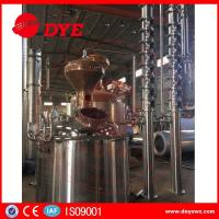Buy cheap copper mini home laboratory alcohol distillation equipment apparatus from wholesalers