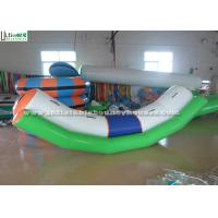 Quality Small Seasaw Inflatable Water Toys for Lake, Made Of 1150g/m2 PVC Tarpaulin for sale
