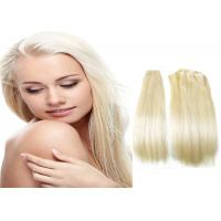 "Quality Simplicity 8"" - 40"" European Human Hair White Women Human Hair Extensions for sale"