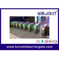 Quality DC 24V Subway Metro Speed Gate Controlled Access Turnstiles for sale