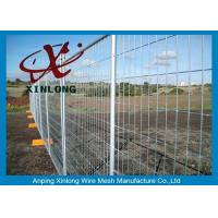 Quality Security Temporary Fencing Panels Metal Base Temporary Site Fencing for sale