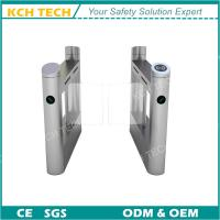 Quality Electronic Swing Barrier Gate with Fingerprint Access Control System for sale