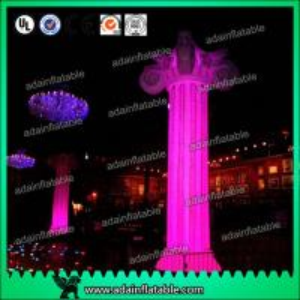 Quality Lighting Inflatable Marble Pillar Roman Column for sale