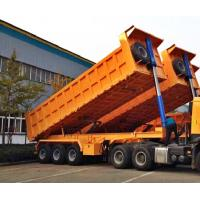 Quality High Performance Flatbed Aluminum Dump Trailer With SINOTRUK Truck Head for sale