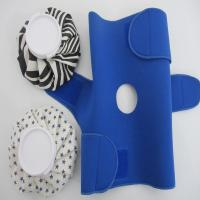 Quality knee wraps with holes to protect knee cap for sale