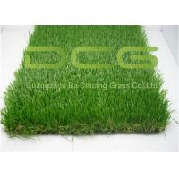 Buy C Shape Realistic Artificial Grass Turf 12000 Dtex For Home Area Decoration at wholesale prices