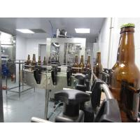 Quality Craft Beer Filling Machine 500 Bottles - 800 Bottles Per Hour Mechanical Driven for sale