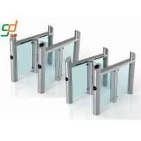 China Access Control Security Swing Barrier Gate Electric Circuit Led Lamp Buzzer on sale