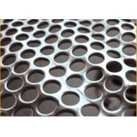 Quality Perforated Metal Mesh Hole Size1.5mm Thickness 2mm (SGS Certification) for sale