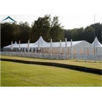 Quality Aluminum Structure Sport Custom Event Tents White PVC Fabric Water Proof for sale