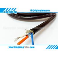 China Lighting Equipment Customized Halogen Free Fire Resistant Cable Rated 105C 300V for sale