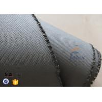 Quality 1600gsm Grey Thermal Welding Blanket Materials Silicone Coated Fiberglass Fabric for sale