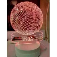 Quality laser inner carve night light for sale
