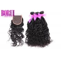 China 12a Malaysian Human Hair Extension Original Water Wave No Shedding Unprocessed on sale