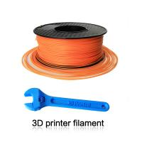 Quality Orange Fluorescent PLA 3D Printer Filament For 3D Printer Printing for sale