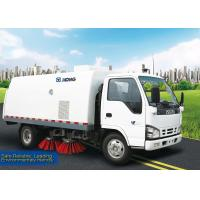 Quality Sanitation Truck, 5m3 Road Sweeper Truck XZJ5060TSL for sweep road, suction and automatic unload the the garbage for sale