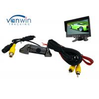 Quality Taxi Vehicle Hidden Camera DVR system , Frontview or Rearview Cam with 8 IR lights for sale