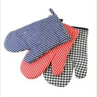 Quality Safety Durable  Printed Oven Mitts Everyday Use Fashionable  For BBQ Cooking for sale