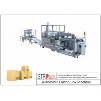 Quality Vertical Drop Down Carton Packing Machine High Efficiency For Medicine / Food Industry for sale