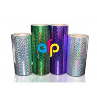 Quality BOPP Laser Holographic Film For Lamination Machine 180mm - 1300mm Width for sale
