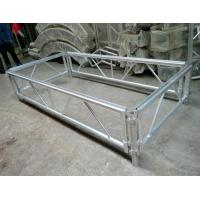Buy 4*8 Feet Assembly Outdoor Used Portable Anti slip Aluminum and Wooden Wedding at wholesale prices