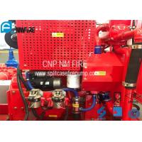 Quality Red Fire Pump Diesel Engine 86KW Water Cold Cooling For Firefighting for sale