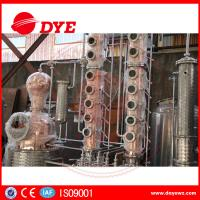 Buy Home Copper Alcohol Still Copper Whiskey Stills Customized 200kg--50000kg at wholesale prices