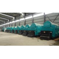 Quality DZH Hand Fired 1 Ton Rice Husk Steam Boiler 80.33%-83.03% Thermal Efficiency for sale