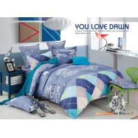 Quality Beautiful Polyester Materail Home Bedding Sets , Custom Size Toddler Bedding Sets for sale