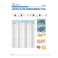 Buy Refrigeration Copper Filter drier , copper strainer at wholesale prices