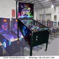 Buy cheap 5 Balls, Hot Sale Amusement Equipment Arcade Games Coin Operated Pinball Game Machine from wholesalers