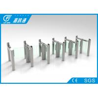 Quality IC Card Reader Pedestrian Access Control , Quick Pass Speed Gate Turnstile for sale