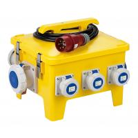 Buy Yellow Mobile Portable Electrical Distribution Box Shock Resistant PE Enclosure at wholesale prices